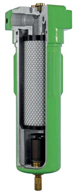 Filter stlačeného vzduchu FMA prierez